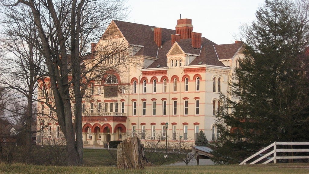 Indiana Soldiers' and Sailors' Children's Home administration building