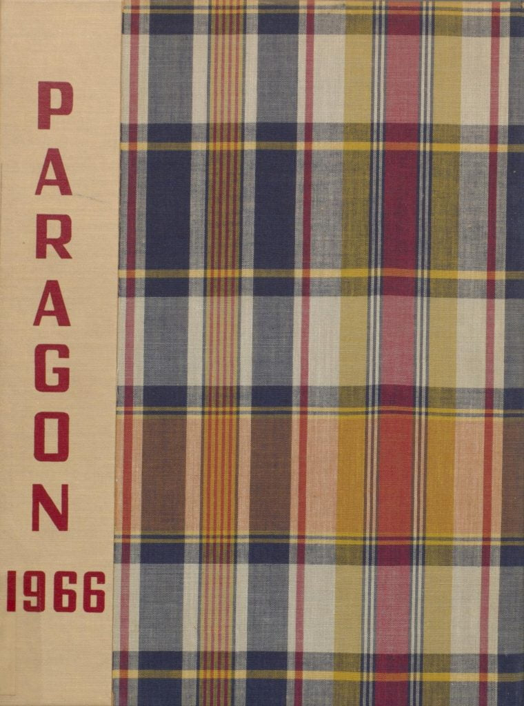 Munster High School 1966 Paragon Yearbook
